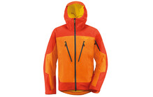Vaude Aletsch II impermeable Homme orange